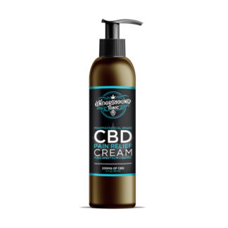 Underground Tonic's CBD Pain Cream